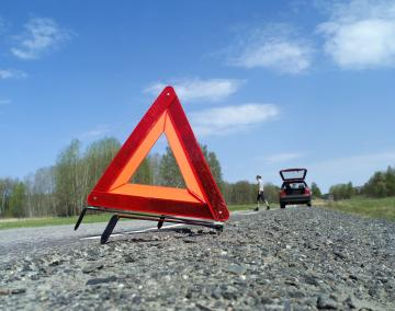 Warning Triangle Roadside Assistance